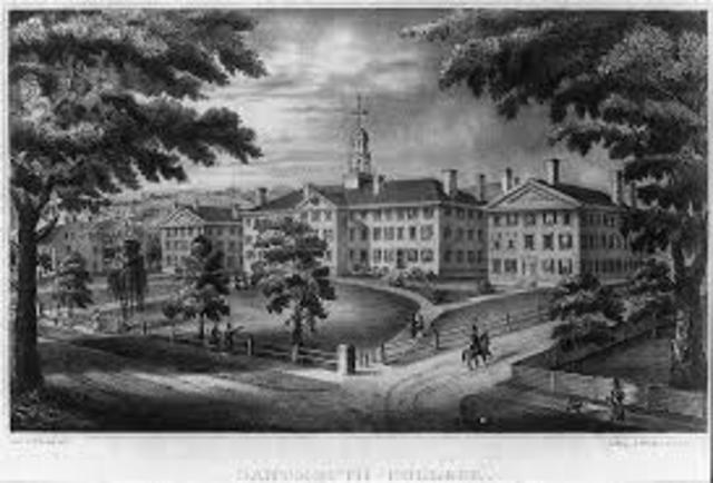 Dartmouth college vs Woodward