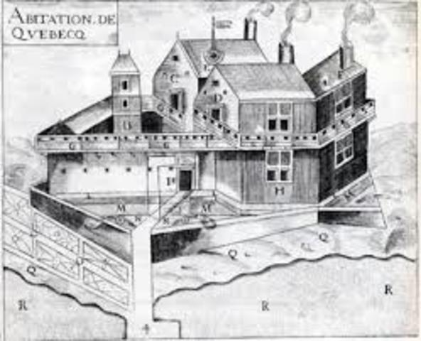 Founding of Quebec