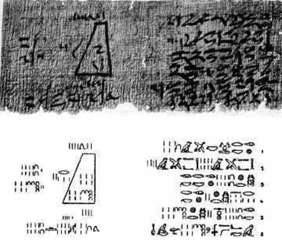 Papiro Golenischev (1890 a.d.C)