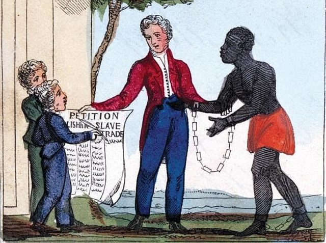 Congress outlaws slave trade