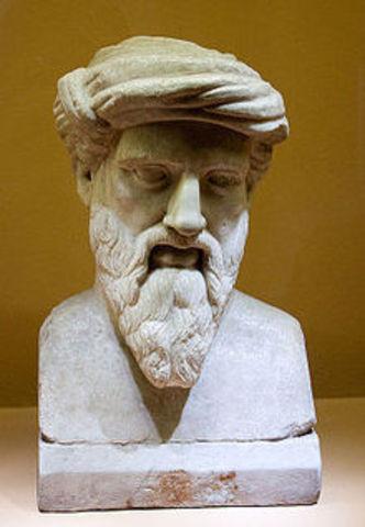 Pitágoras (585-500 a.d.C)