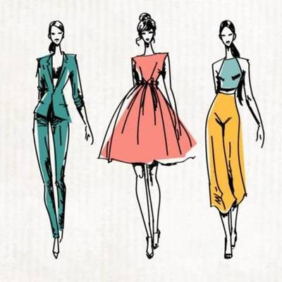 Evolución de la moda timeline