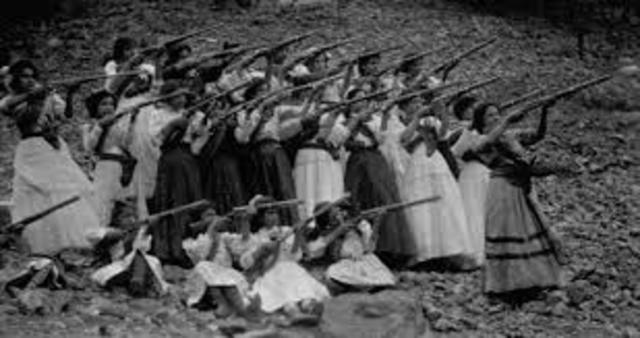 The End Mexican Revolution