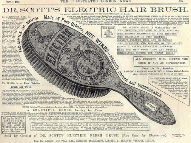 Cepillo eléctrico Dr. Scott