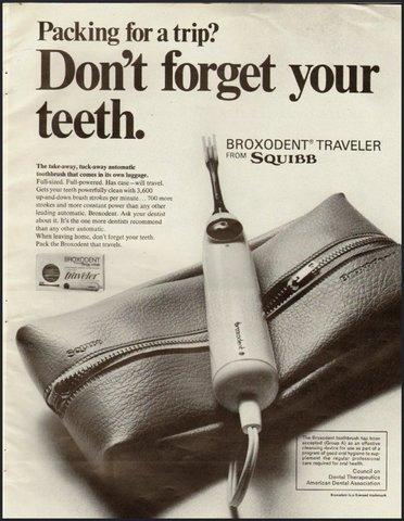 Primer cepillo de dientes eléctrico en EEUU