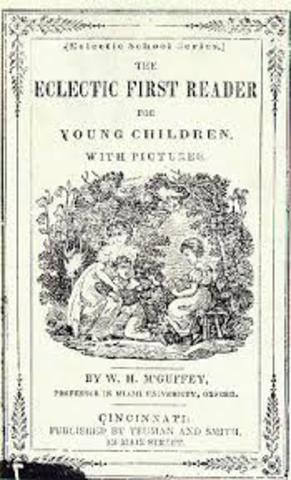 First McGuffey Reader Published