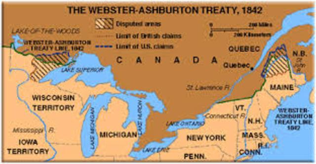 Webster- Ashburton Treaty