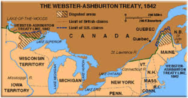 Webster- Ashburton Treaty