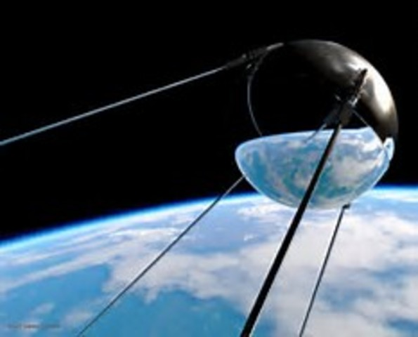 Sputnik is Launched into Space