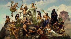 Evolution des Dieux de la Mythologie Grecque dans les Arts timeline