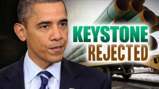 Obama Rejects new route