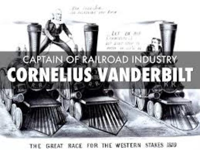 commodore cornelius vanderbilt and the railroad industry of america 6 robber barons from america's past search the site go history & culture american history  'commodore' cornelius vanderbilt, one of the oldest and most reckless of financial buccaneers of his day  his reputation as being a ruthless competitor grew as his wealth did by the 1860s, he decided to move into the railroad industry as an.