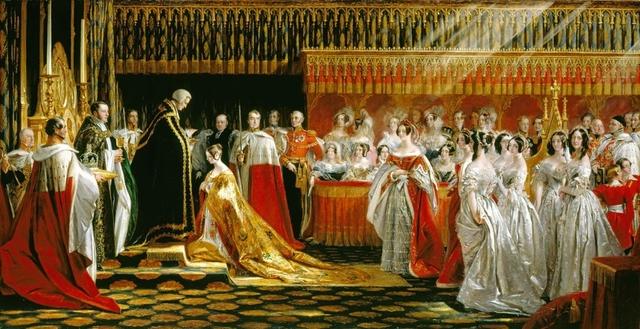 The queens conronation