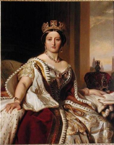 Victoria becomes Queen Victoria