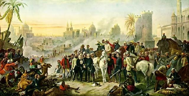Victoria takes control of India