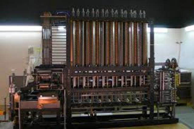 Создание первой вычислительной машины.