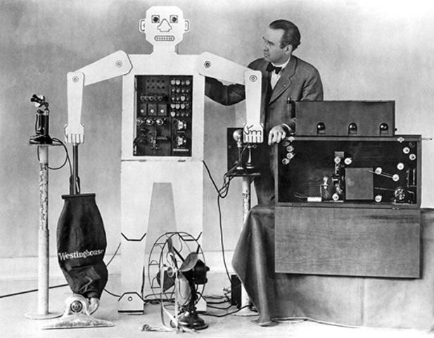 Конструкция робота-андроида Американским инженером Дж. Уэнсли