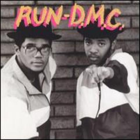 Run DMC on the scene