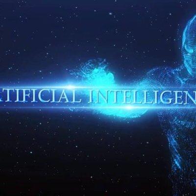 """""""История развития искусственного интеллекта"""" timeline"""