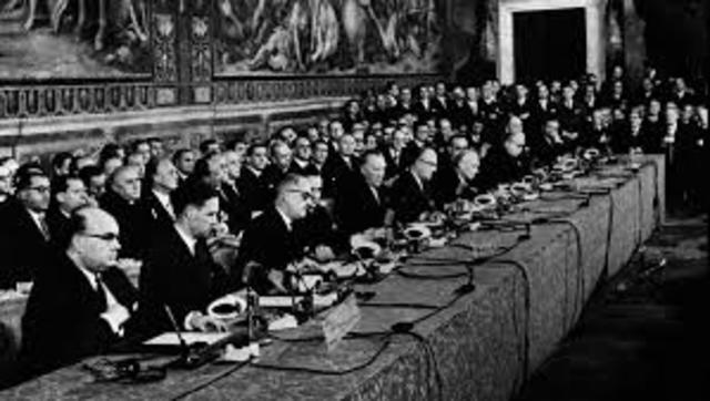 Original signatories of the 1957 Treaty of Rome.