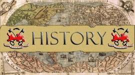 Лента времени, отражающая исторические факты о времени появления задач на смекалку timeline