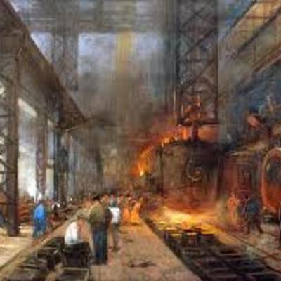Principals esdeveniments de l'inici de la industrialització timeline