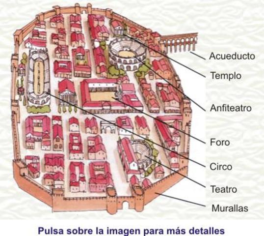 Romanos ( 218 a.c hasta principios del siglo V)