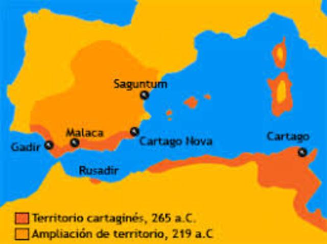 Cartagineses  (572 a.c. - 206 a.c.)