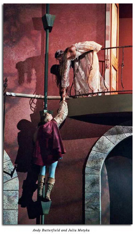 Romeo and Juliet exchange vows of love