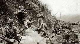 Gebeurtenissen 1e wereldoorlog. timeline