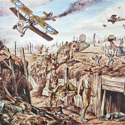 eerste wereldoorlog timeline