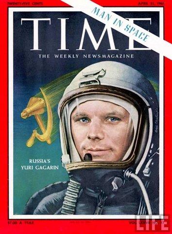 Gagarin første menneske i rommet