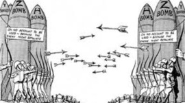 Den Kalde krigen- tidslinje timeline