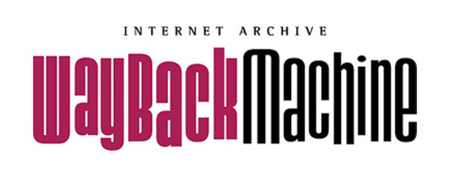 Creación de la WayBack Machine