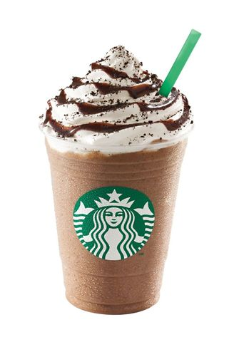 Begins serving Frappuccino blended beverages