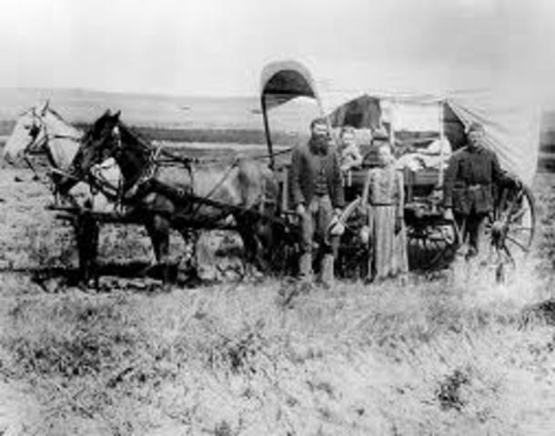 Western Settlement (Homestead act)