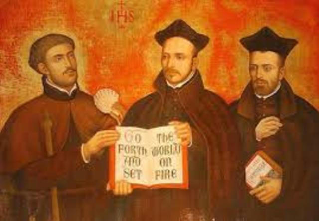 St. Ignatius of Loyola founds the Jesuits