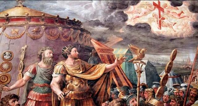 Battle of Milvian Bridge (Leads to Constantine's eventual conversion)