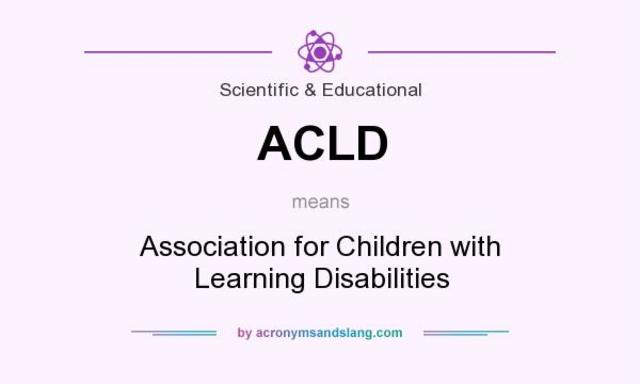 The Association for Children with Learning Disabilities
