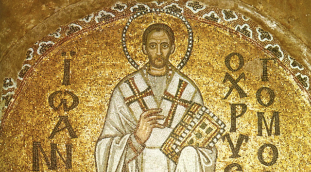 St. John Chrysostom Consecrated Archbishop of Constantinople