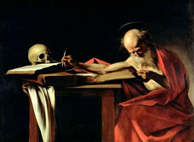 St. Jerome Finishes the Latin Vulgate