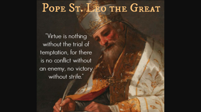 St. Leo the Great Becomes Pope