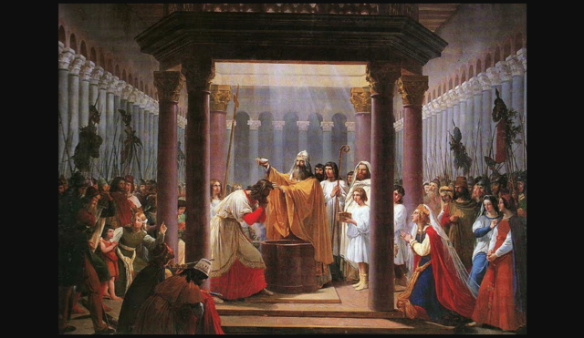 Baptism of Clovis I, First King of France