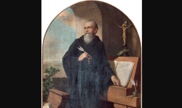 St. Benedict Writes His Rule