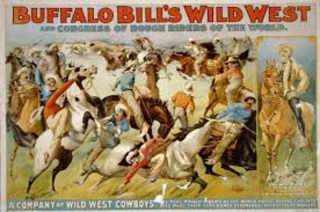 Western Romanticism (Buffalo Bill's Wild West Show )