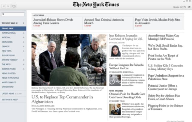 El primer periódico digital publicado