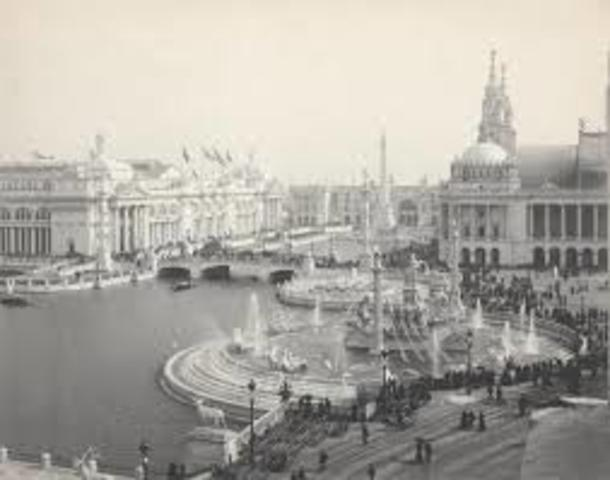 Growing cities (World Columbian Exposition 1893)