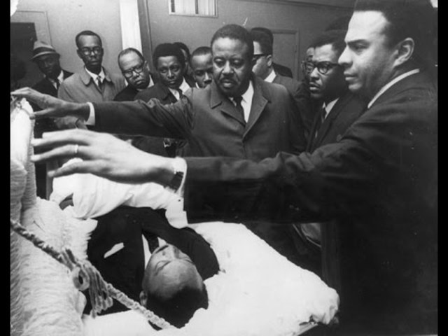 Martin Luther King Jr Dead Pictures Civil Rights Movement ...