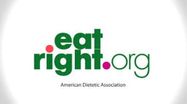 asociación la Americana de Dietética ADA