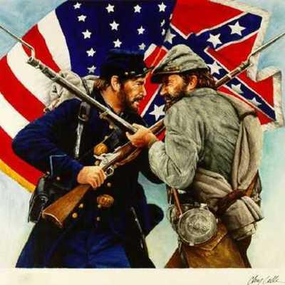 The American Civil War timeline